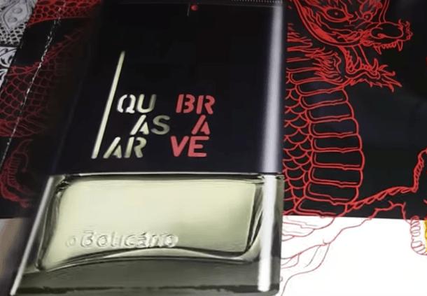 novo perfume boticario quasar brave