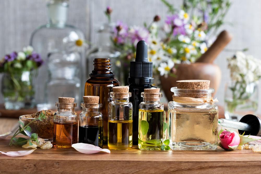 oleos essenciais na perfumaria