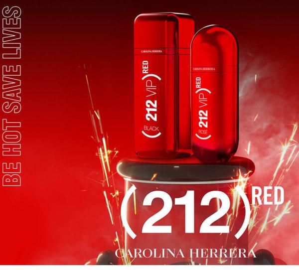 os perfumes 212 red da carolina herrea -