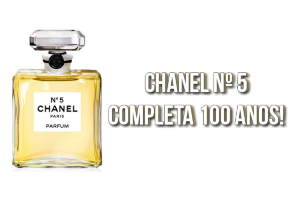 Chanel - numero 5- 100 anos