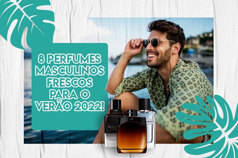 8 perfumes masculinos capa